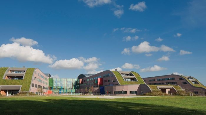 park view of the Alder Hey Children's Hospital
