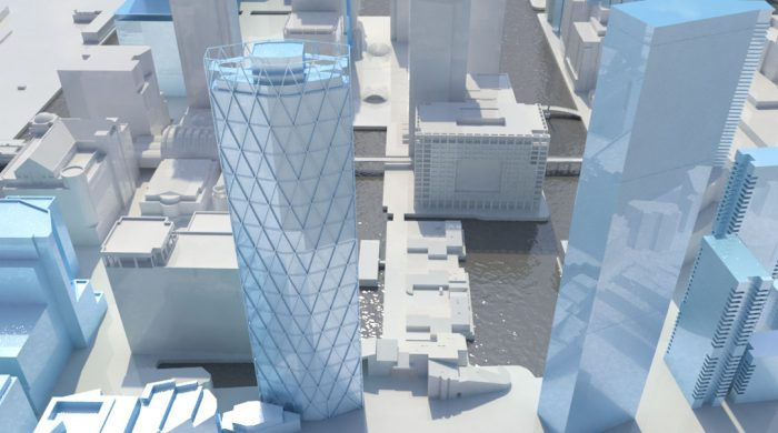 3D model of Newfoundland Tower in London